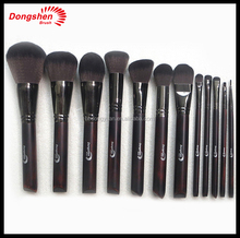 Private label makeup brush set 12pcs synthetic hair maquillage profeesional brush