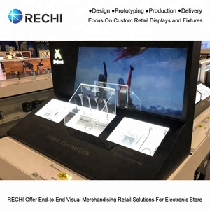 RECHI Customize Interactive Display Kiosk for Consumer Electronics to  Attract Customer to Experience the Merchandises