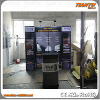 Aluminum Exhibition Booth Stall Design