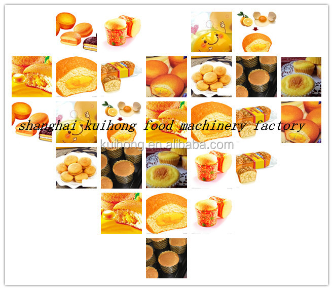 KH high quality industrial cake production line/cake food machinery