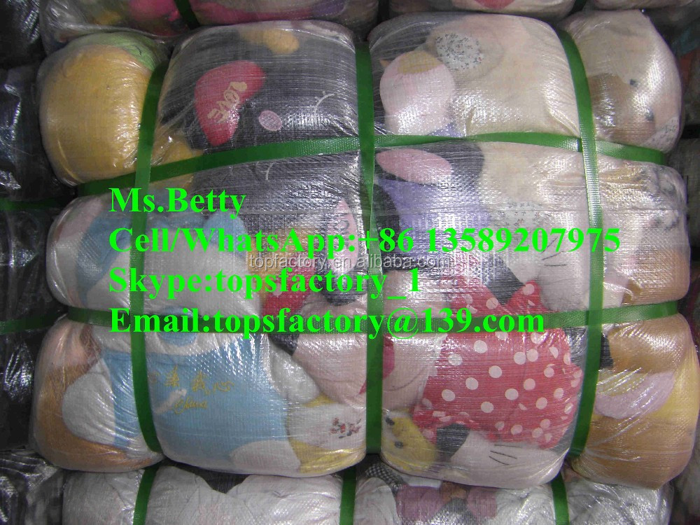 Premium bale of used toys used clothing second hand clothes