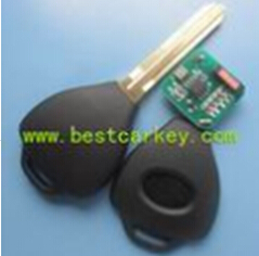 Transponder car keys with 4C electronic chip for toyota key Toyota transponder chip key clone