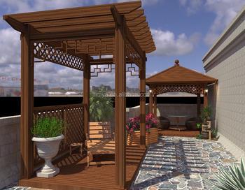Outdoor Patio Aluminum Waterproof Pergola Covers Canopy