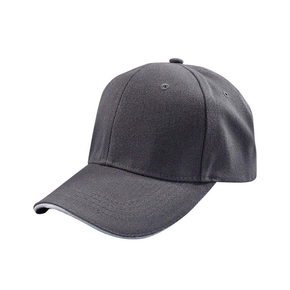 Unisex Sports Cap Plain Curved Visor Baseball Golf Hat UNC CHARLOTT 8db5b524988