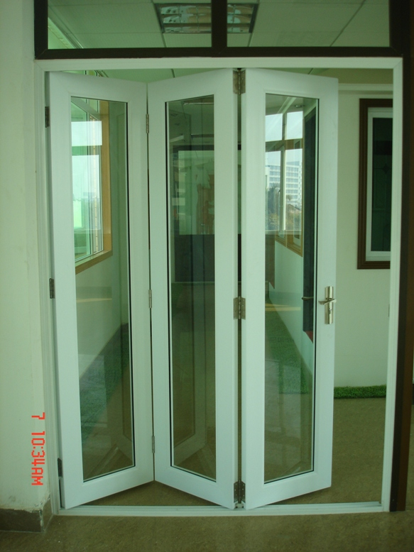 Upvc Interior Bifold Door - Buy Indoor Folding Door,Plastic Bifold ...