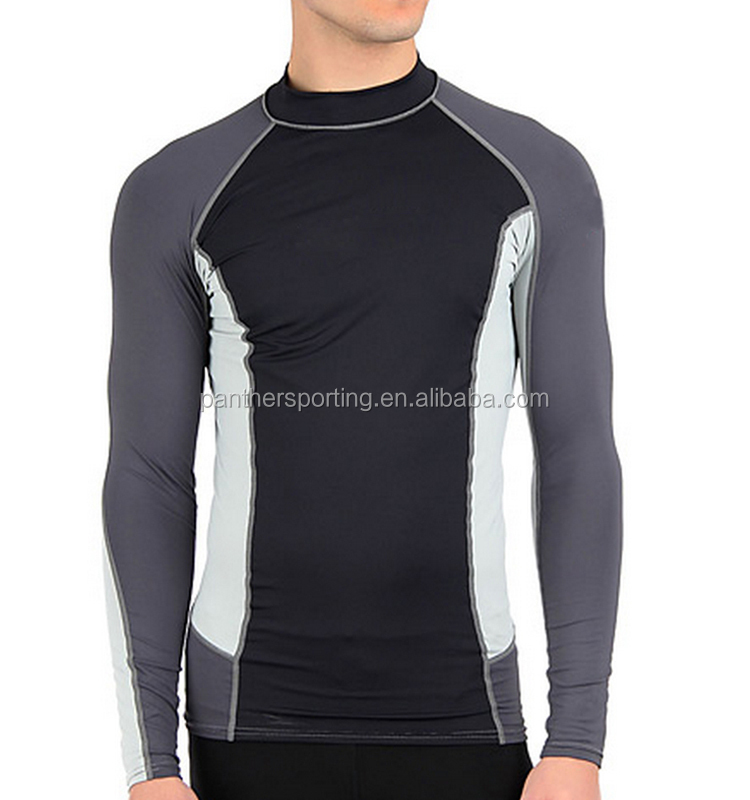 2017 Quality Compression Shirt Custom Men's Running Tights Wear
