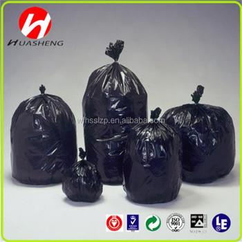 Hdpe Plastic Garbage Bags Disposable Pe Trash Bin Liners New