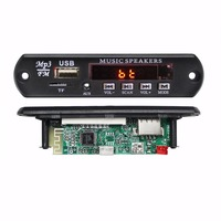 Dc 5V 12VMp3 WMA Fm Radio With Usb Audio Player Decoder Bluetooth Record Receiver Amplifier Board For Sound Speaker System Kit