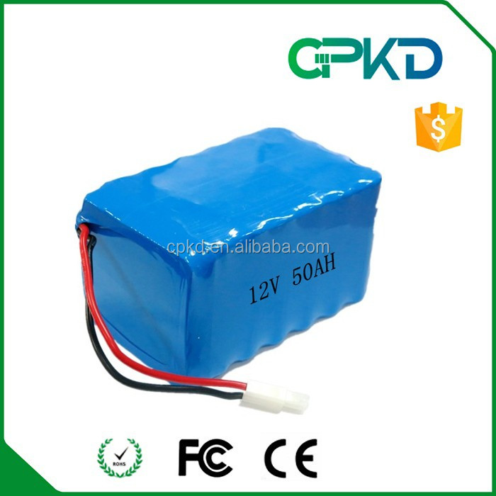 High Quality 12v 5000mah Rechargeable Battery Pack Lipo 3s Lithium ...