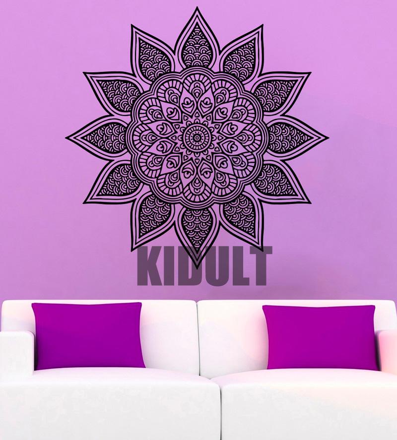 Mandala Wall Art Yoga Rooms