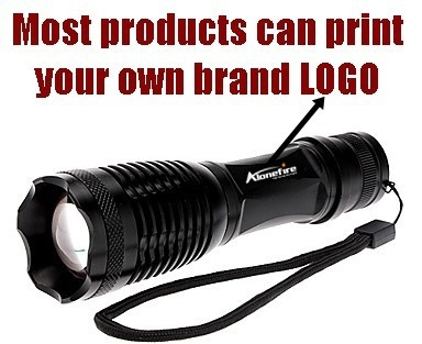 Set- E17/A100 XM-L T6 2000Lumens Mini Zoomable LED Flashlight Torch light with charger/18650 rechargeable battery