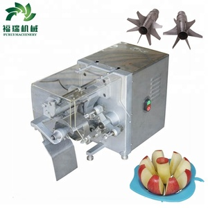 High quality industrial apple peeling machine/commercial electric apple peeler corer slicer