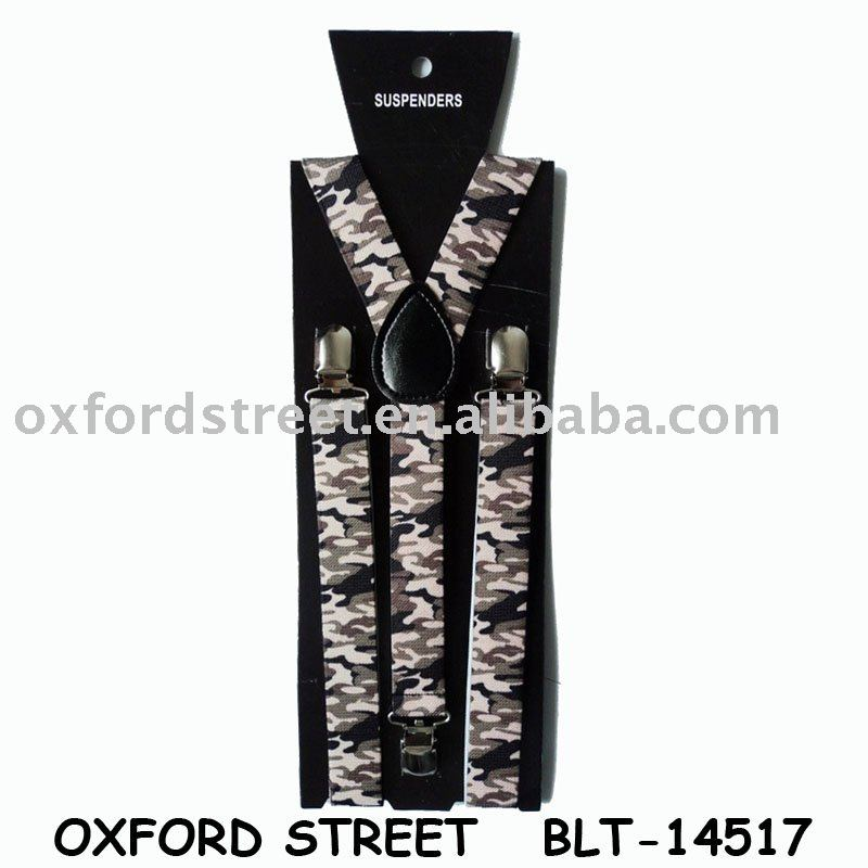 Fashion Military Cheap Welcome Hot Sales Suspender