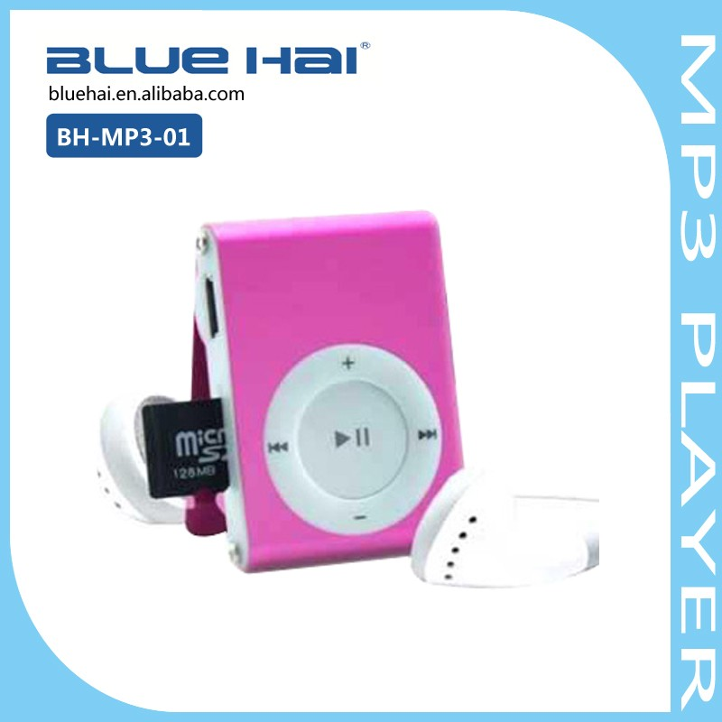 New Model Mp3 Player with Plastic Clip Player Mp3 Low Price Made In China