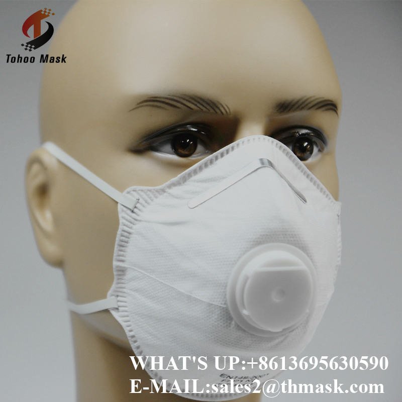 kn90 N95 3ply nonwoven disposable hotel raw material gas dust face mask