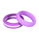 Hot Sale Silicone Non Toxic Custom Silicone Wedding nfc ring custom bands