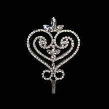 Scepter Wands Rhinestone Crystal Cross Dubbelzijdig Mode-sieraden Play Accessoires Props Pageant Wedstrijd Kroon <span class=keywords><strong>Dingen</strong></span>
