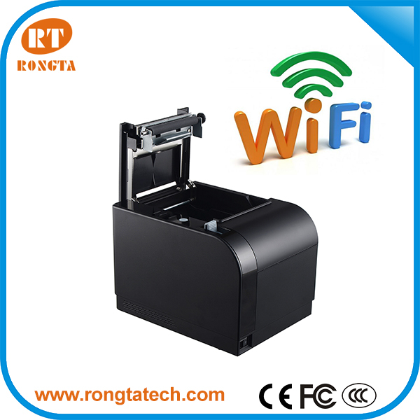 W-LAN printer 80mm support Android&IOS,Best receipt printer compatible with ESC/POS/OPOS/IOS