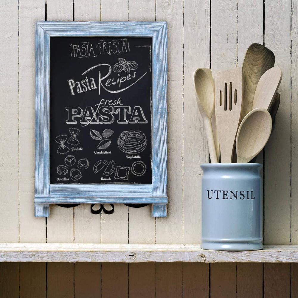 Rustic vintage Memo Board Desk magnetic chalkboard sign - Yola WhiteBoard   szyola.net
