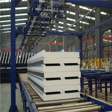 Heat Insulation 50mm PU Foam Styrofoam Roof Sandwich Panels