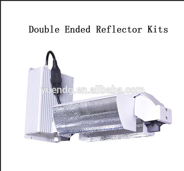 New arrive 600w Double Ended Grow Light Air Cooled Reflector