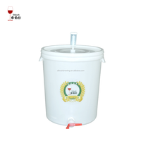 30l clear plastic buckets with lids for sale