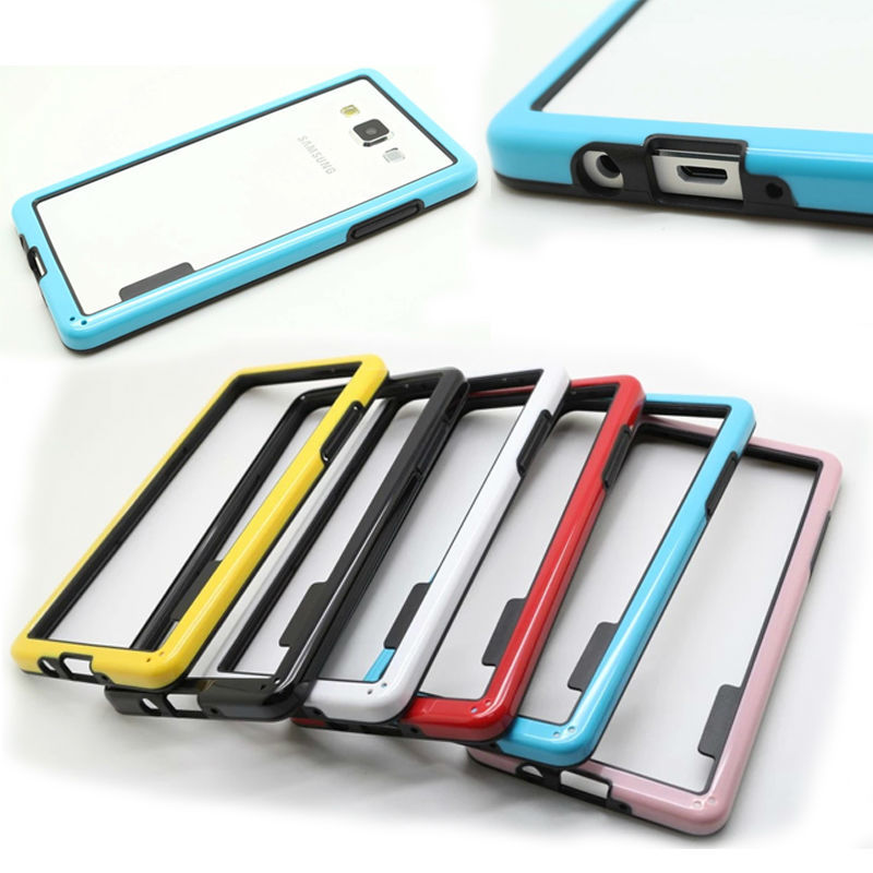 TPU+PC Hybrid bumper Case For Samsung A5 mix color