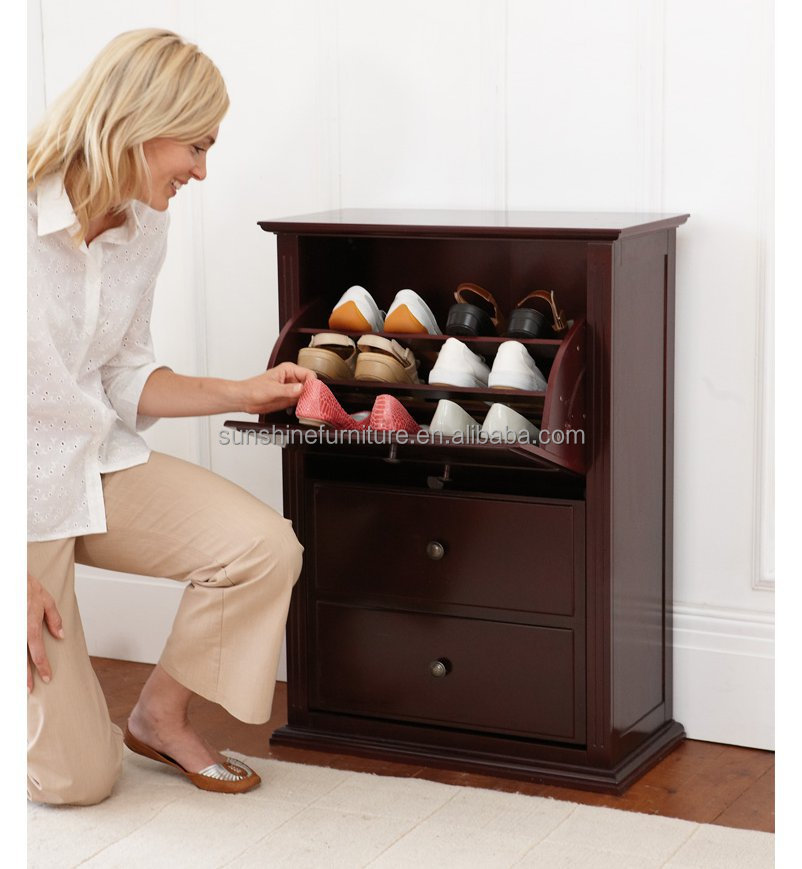 top sale cheap nice design wood shoe rack , shoe rack cover , shoe ...