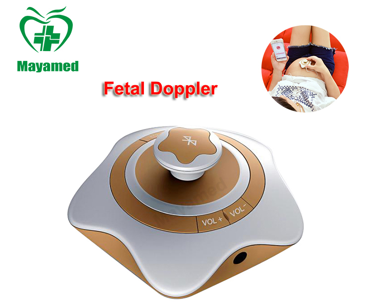 Newest Hot Sale MY-C024N Portable homecare ultrasonic diagnostic devices Pocket Mini Fetal Doppler with cheap price