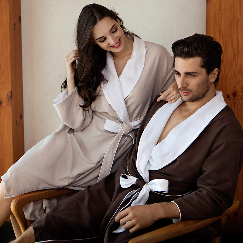 fancy wholesale towel bamboo organic high quality deluxe luxury sleeping couple towel bathrobe
