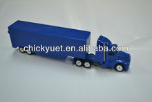 1:87 diecast mini container T2000 truck model toy