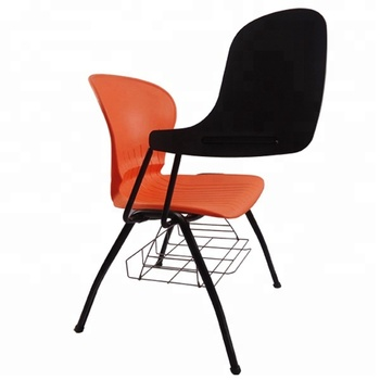 School Plastic Armchair Student Chair And Desk Library Reading Chair