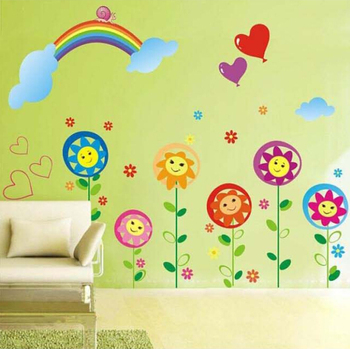 Hot Sale Removable Kids Room Decor Rainbow Wall Stickers Buy