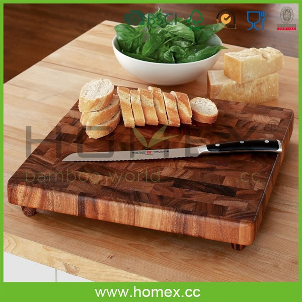 Acacia Wood Chopping Board/Kitchen Wooden Cutting Board/Homex_FSC/BSCI Factory