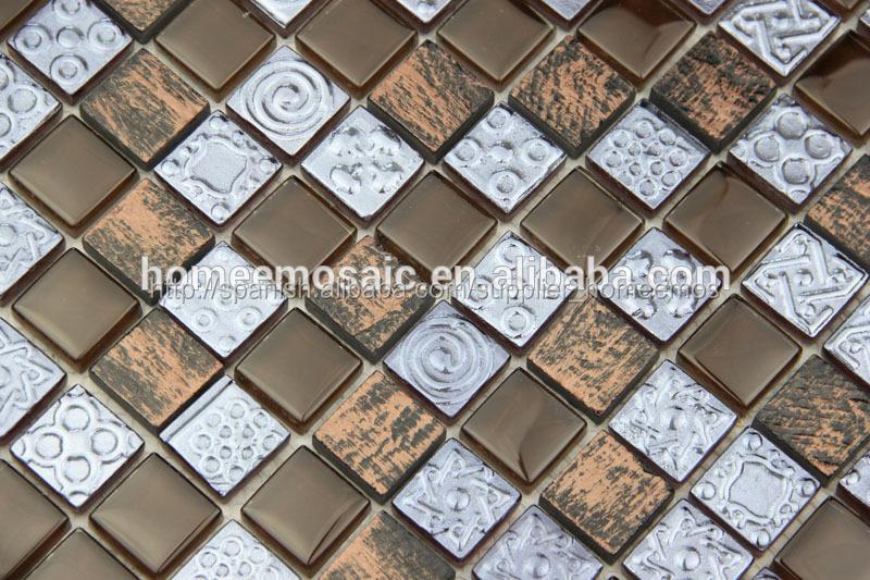Barato de vidrio azulejos de la cocina para salpicaderos mosaicos identificaci n del producto Azulejos cocina baratos