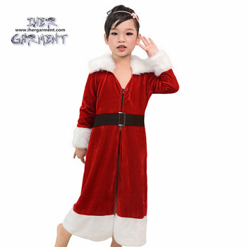 iher garment baby girls christmas santa claus fancy dress party outfit halloween costumes ih k190