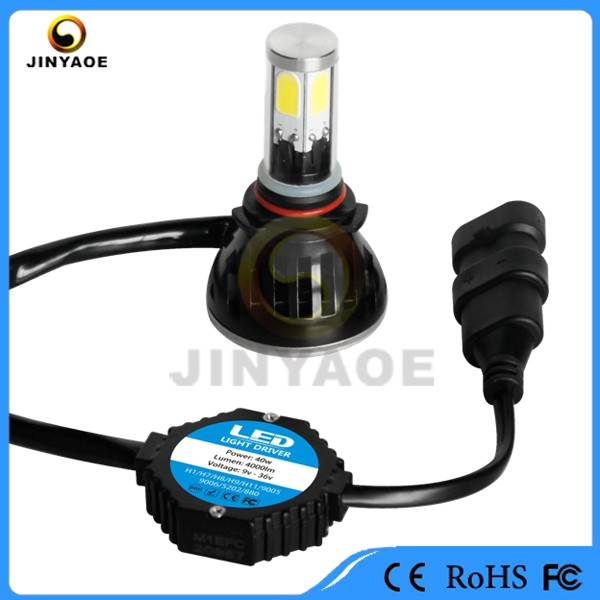 headlights with led running lights G5 G6 80w 8000 lm ip68 automotive led interior lights