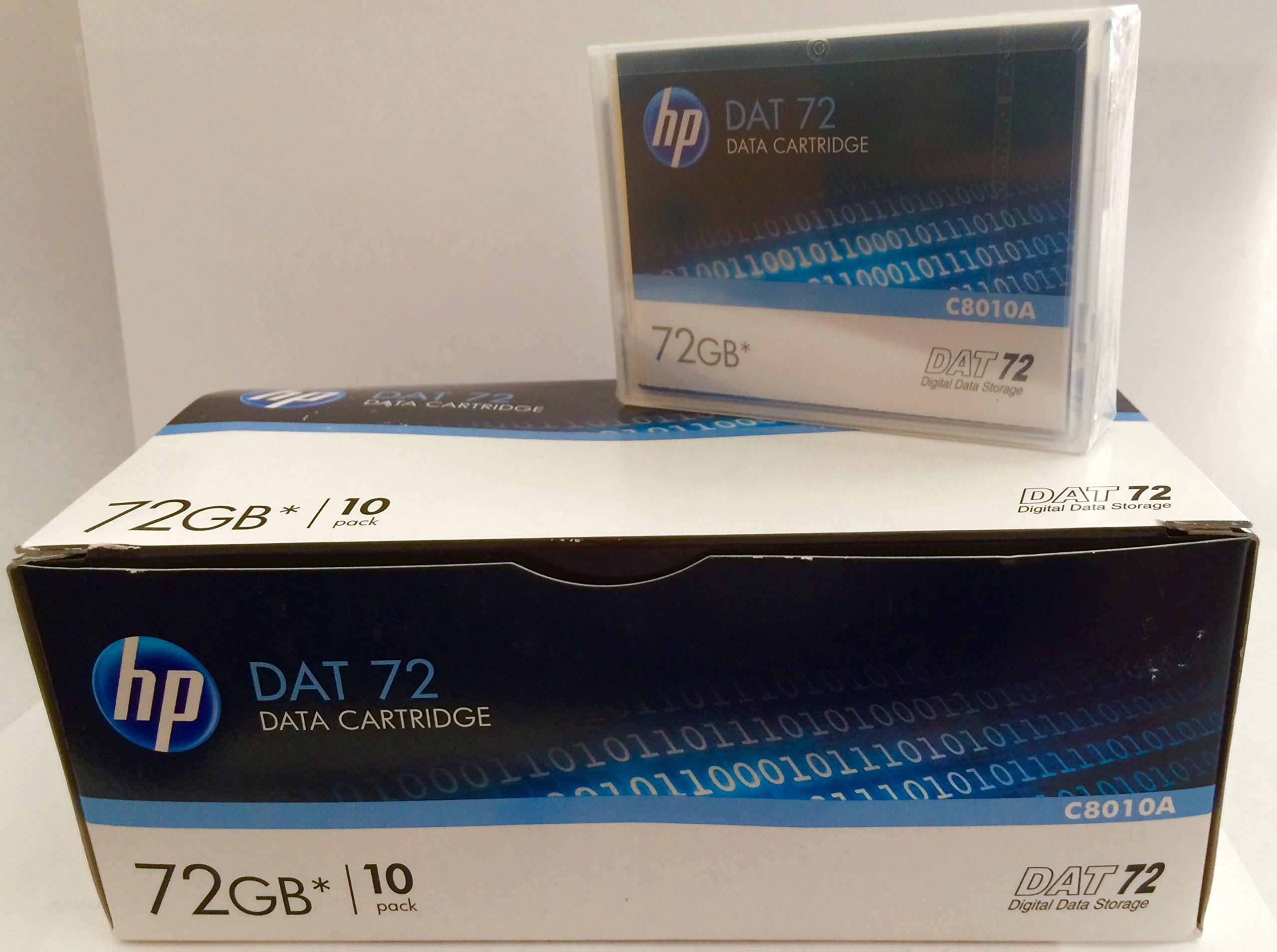 10 Pack HP C8010A DAT72 4/170 DDS5 Media 36/72GB(NEW)