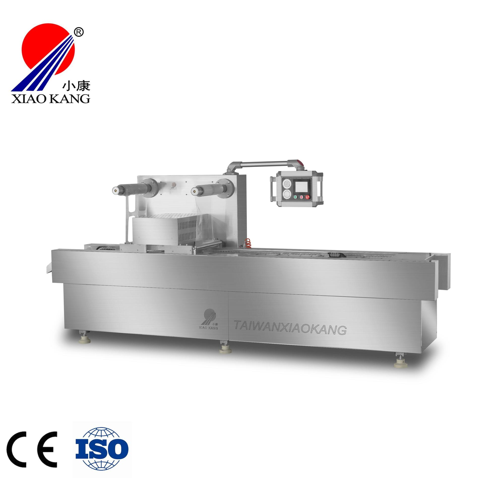 Vacuum tray sealing machine for fresh fruit and vegetable