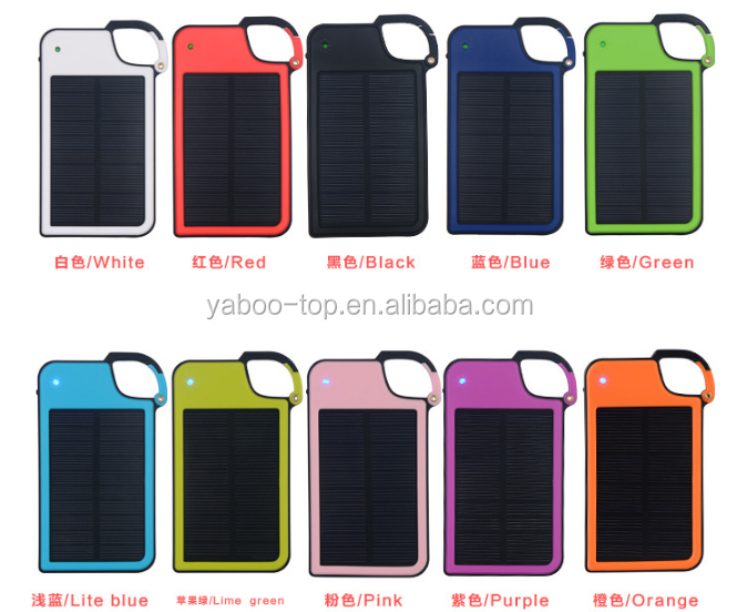 (2019 New) Key Chain Solar Power Bank 4050mAh with LED Light, Outdoor Portable Solar Charger 4050mAh Hot on Amazon/Ebay