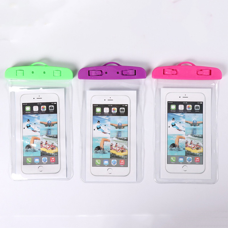 6Inch Floating Swimming IPX8 Waterproof Mobile Phone Bag  Pouch