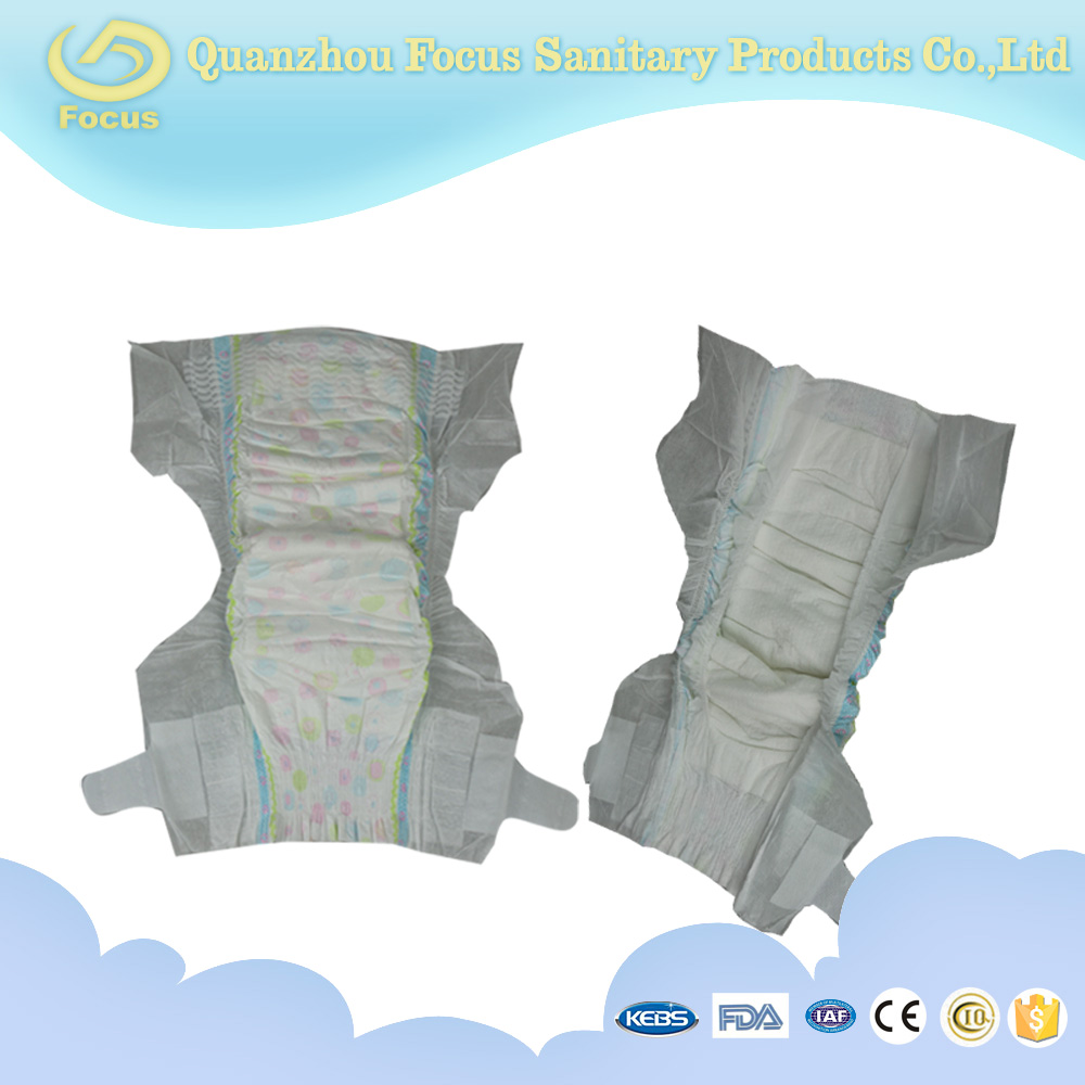 fashion style cute design blue ADL disposable sleepy baby diaper factory