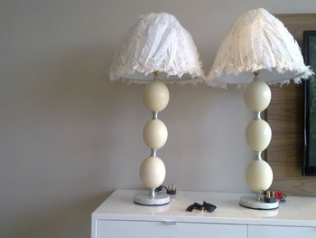Ostrich Egg Lamps Tapered Lamp Shade - Buy Lamps Product on ...