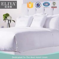 ELIYA Luxury Egyptian Cotton Elegant White Hotel Flat Bed Sheets