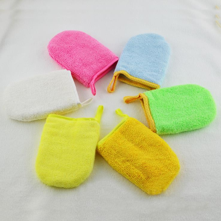 magic microfiber makeup glove makeup cosmetics with water only