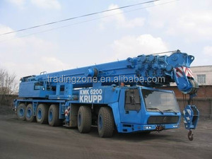 used 200 ton Krupp all terrain crane for sale, German 200 ton crane Krupp, competitive price