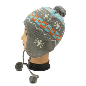 free knitting pattern hat beanie BABY autumn winter children knitted BABY  girls cake warm hat cap 3b7cdb070ba