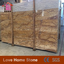 Cemetery French gold marble slabs