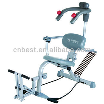 Bst Js-006 Hot Ab Bench Sit Up And Sit Down Gym Impulse Gym ...