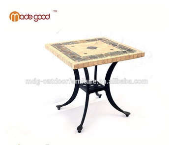 Stainless Steel Small Square Marble Top Coffee Table Dining In Wood Leg